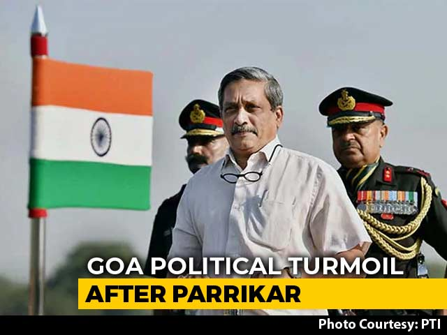 Video : In Overnight Meet After Manohar Parrikar Death, Goa BJP Allies Talk Tough