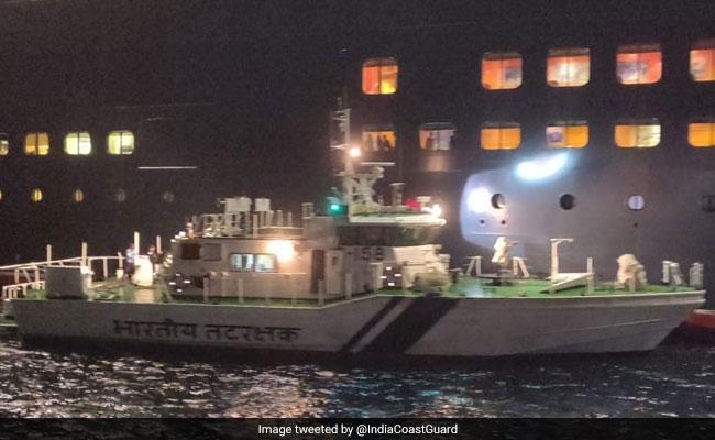 Critically Ill British Citizen, 67, Evacuated By Coast Guard Off Goa