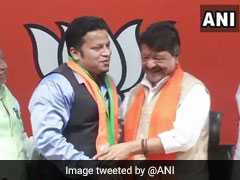 """Felt Politically Handicapped"": Expelled Trinamool Lawmaker Joins BJP"