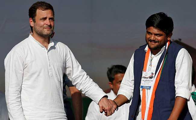 'Congress Didn't Give Me Any Work In Gujarat Local Polls': Hardik Patel