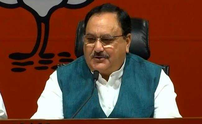 JP Nadda Reviews BJP Membership Drive, Eyes 20 Per Cent
