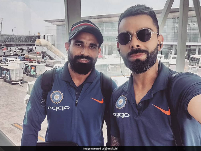 "Virat Kohli Off To Nagpur With ""The Lean Mean Pace Machine"""