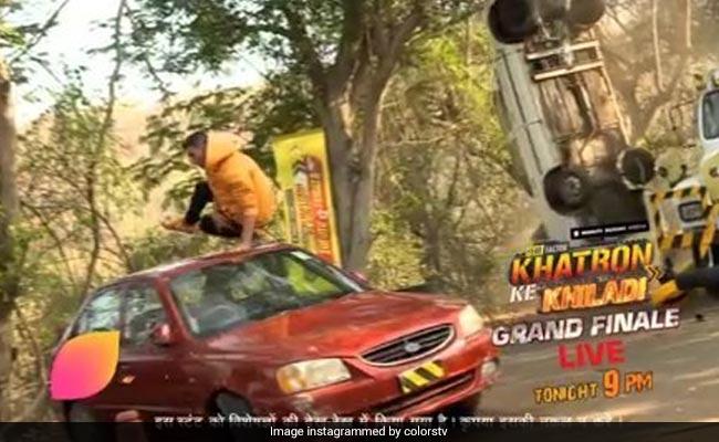 Khatron Ke Khiladi 9 Grand Finale: अक्षय कुमार ने किया धमाकेदार स्टंट, कार के ऊपर से उछलते हुए उठा ली ट्रॉफी- देखें Video