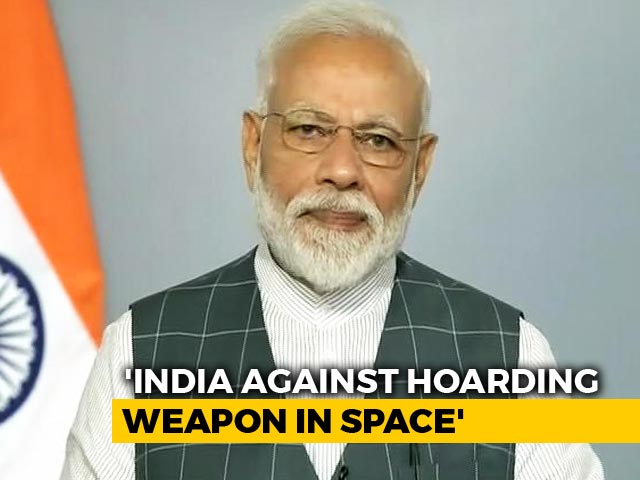 Video : Assure World ASAT Won't Be Used Against Any Country: PM Modi