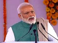 "Amethi Is An Example Of ""<i>Sabka Saath, Sabka Vikas</i>"" Mantra: PM Modi"