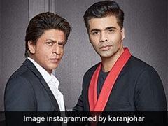 Shah Rukh Khan Blames Karan Johar's 'Fat Fingers' In LOL Tweet After #ShameOnKaranJohar Trends
