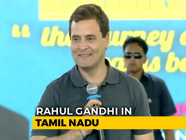 "Video : ""Can You Call Me Rahul?"" Chennai College Student Told"