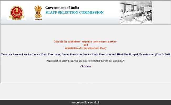 SSC Invites Objection On Junior Translator Tier I Exam Tentative Answer Key; Details Inside