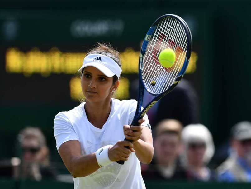 """Watch: Sania Mirza Returns To Tennis Court For First Time After Having Baby, Fans Call Her """"Inspiration"""""""