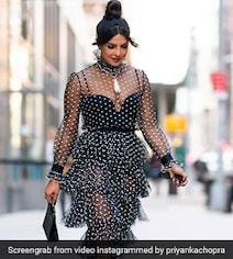 Priyanka Chopra's Sheer Dress Gets A 3-Heart Review From Nick Jonas