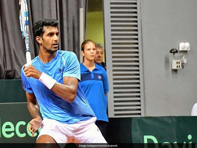 India's Prajnesh Gunneswaran Jumps To Career-High Ranking Of 84