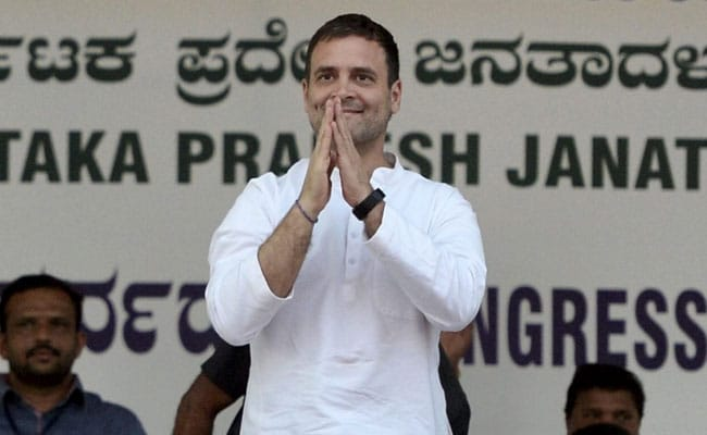 Rahul Gandhi Promises Three-Year Tax Holiday For Entrepreneurs