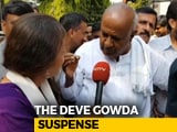 "Video : ""Yet To Decide"": HD Deve Gowda Keeps People Guessing About Lok Sabha Seat"