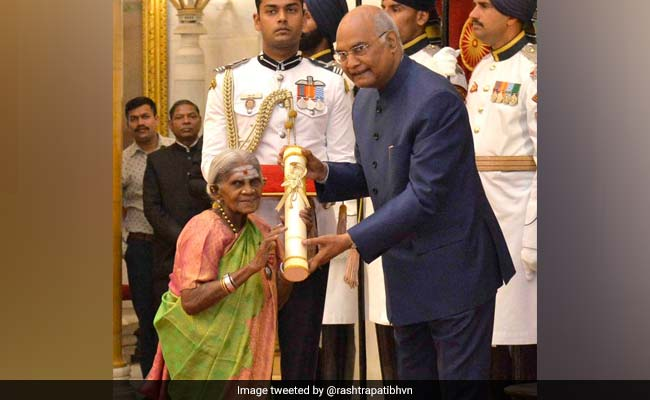 Watch: When The 'Mother Of Trees' Blessed President Ram Nath Kovind