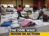Video : Lawyers, Techies Keep Round The Clock Vigil In DMK War Room In Chennai