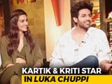 Video : Kartik Aaryan & Kriti Sanon On <i>Luka Chuppi</i>, Live-In Relationships, & More