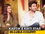 Video : Kartik Aaryan & Kriti Sanon On <i>Luka Chuppi</i>, Live-In Relationships, & More