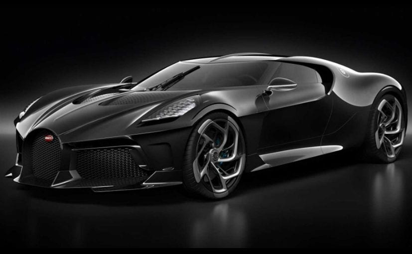 The Bugatti La Voiture Noire is a one-off and will be delivered to its owner after 2.5 years