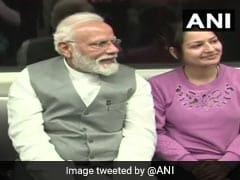 PM Modi Flags Off Red Line Extension Of Delhi Metro, Takes Inaugural Ride