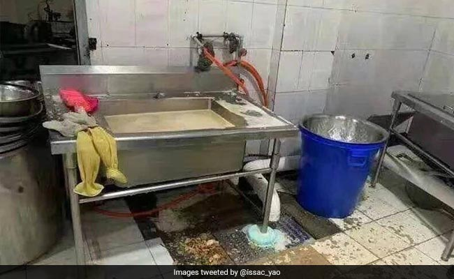 Chinese School Slammed After Piles Of 'Disgusting' Food Found In Canteen