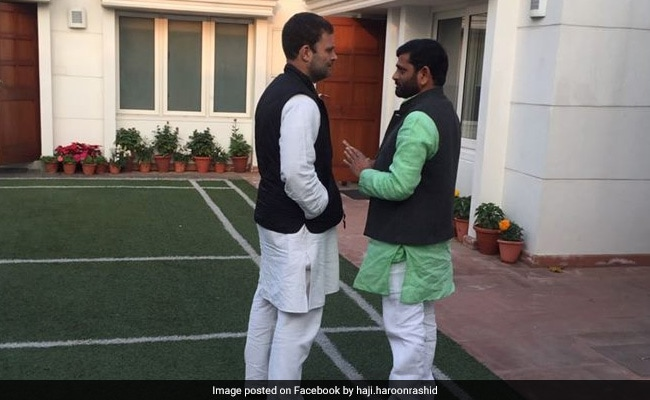 Son Of Congress Leader To Contest Against Rahul Gandhi In Amethi