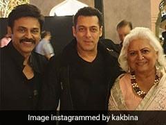 Salman Khan Attends Venkatesh Daggubati's Daughter Aashritha's Wedding In Jaipur. Pics Here