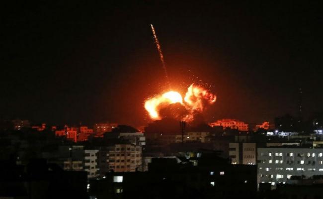 Israel Strikes Gaza After Rare Missile Hits House ...