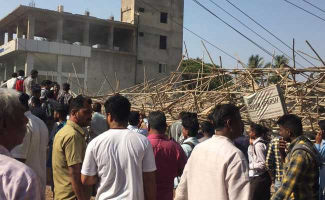 2 Dead, Many Feared Trapped After Building Collapses In Karnataka's Dharwad: Highlights