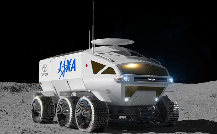 The Toyota Jaxa Lunar explorer is the size of two microbuses