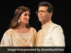 Shweta Bachchan's 'Wolves In Chic Clothing' Pic With Karan Johar Will Make You ROFL