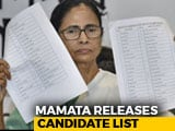 Video : 41% Women In Trinamool's Star-Studded List For Lok Sabha Polls In Bengal