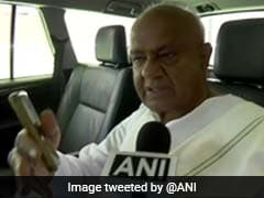 Congress Asks Rebels To Withdraw From Contest Against Deve Gowda