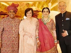 At Akash Ambani-Shloka Mehta Wedding, Sundar Pichai, Tony Blair Among International Guests