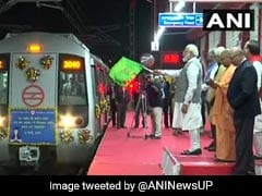 PM Modi Inaugurates Delhi Metro's Red Line Extension To Ghaziabad