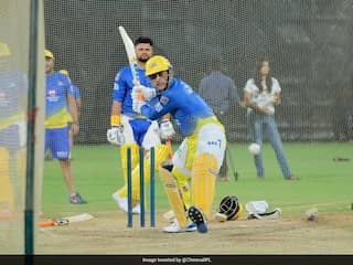 """CSK Players Praise MS Dhonis """"Match-Like Intensity"""" In Training Camp"""