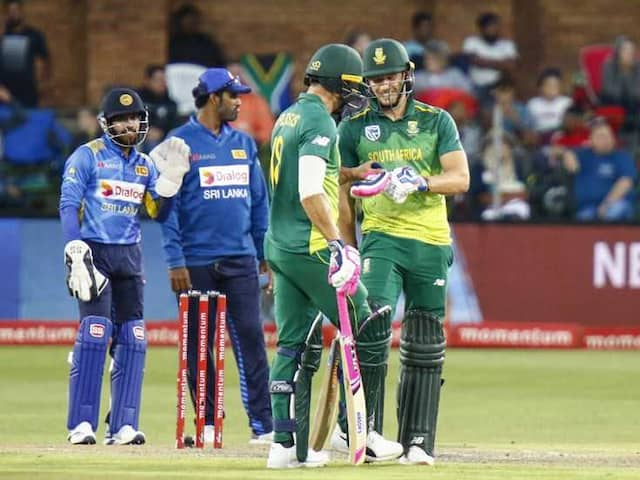 South Africa Beat Sri Lanka By Six Wickets In Fourth ODI