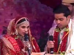"""In Sickness And Health"": Akash Ambani, Shloka Mehta Exchange Vows. Watch"