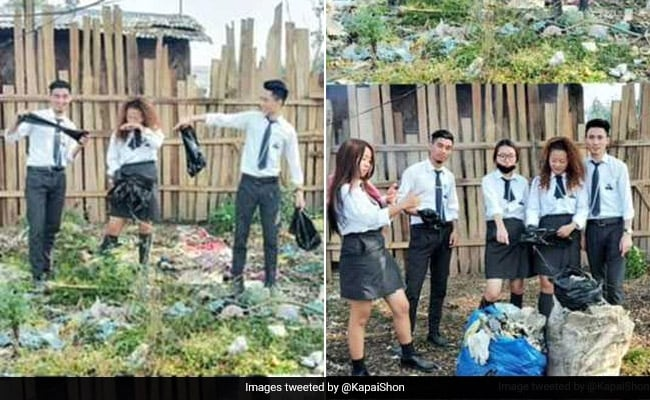 Indians Take To Viral #Trashtag Challenge. See Pics