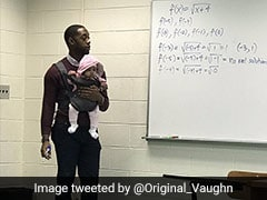 Professor Wins Hearts By Holding Student's Baby During Class