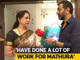 """Video: """"Visited Mathura 250 Times"""": BJP's Hema Malini Says Not An Outsider"""