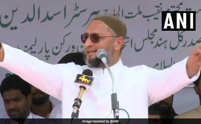 'Haath Wallahs Have Nothing To Offer, But Fear Of BJP': Asaduddin Owaisi