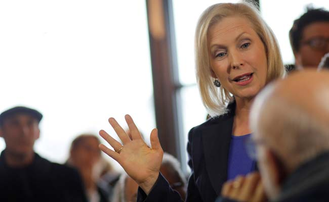 New York Senator Kirsten Gillibrand Announces Presidential Run