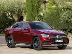 2020 Mercedes GLC Coupe Facelift Revealed