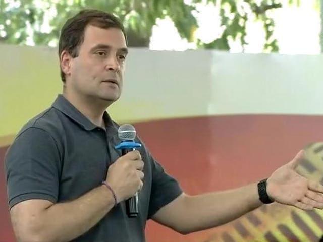 "Video : ""Narendra... Sorry, Nirav Modi"": Rahul Gandhi's Fumble At Chennai College"
