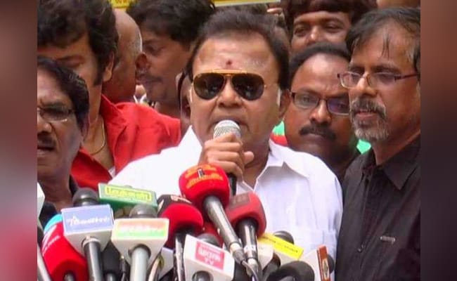 DMK Suspends Actor Radha Ravi Over Offensive Remark On