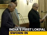 Video : Ex-Top Court Judge Justice PC Ghose Takes Oath As India's First Lokpal