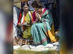 """""""Would Priyanka Gandhi Drink It Before?"""" Nitin Gadkari On Ganga Clean-Up"""