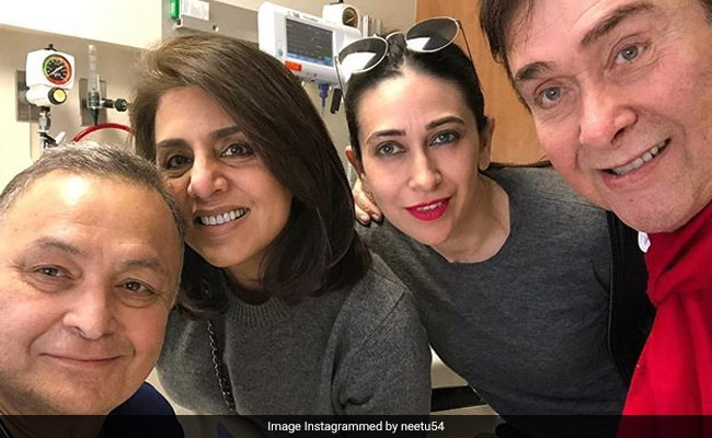 Neetu Reveals What 'Bestest Brothers' Rishi And Randhir Kapoor's Favourite Topic Of Conversation Is