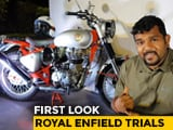 Video : Royal Enfield Trials First Look