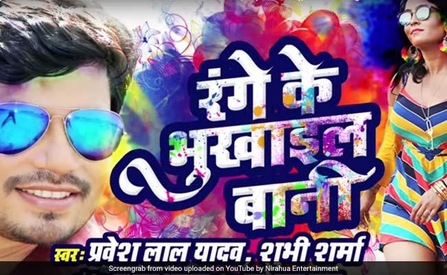 Bhojpuri Cinema: होली पर इस भोजपुरी सॉन्ग का कहर, खूब देखा जा रहा है वायरल Video